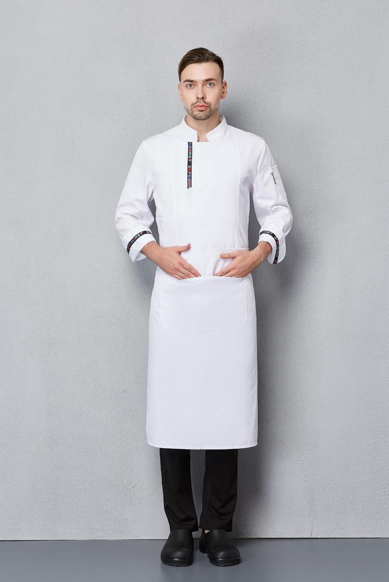 厨师服长袖-105