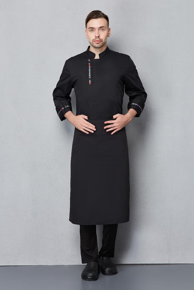 厨师服长袖-106
