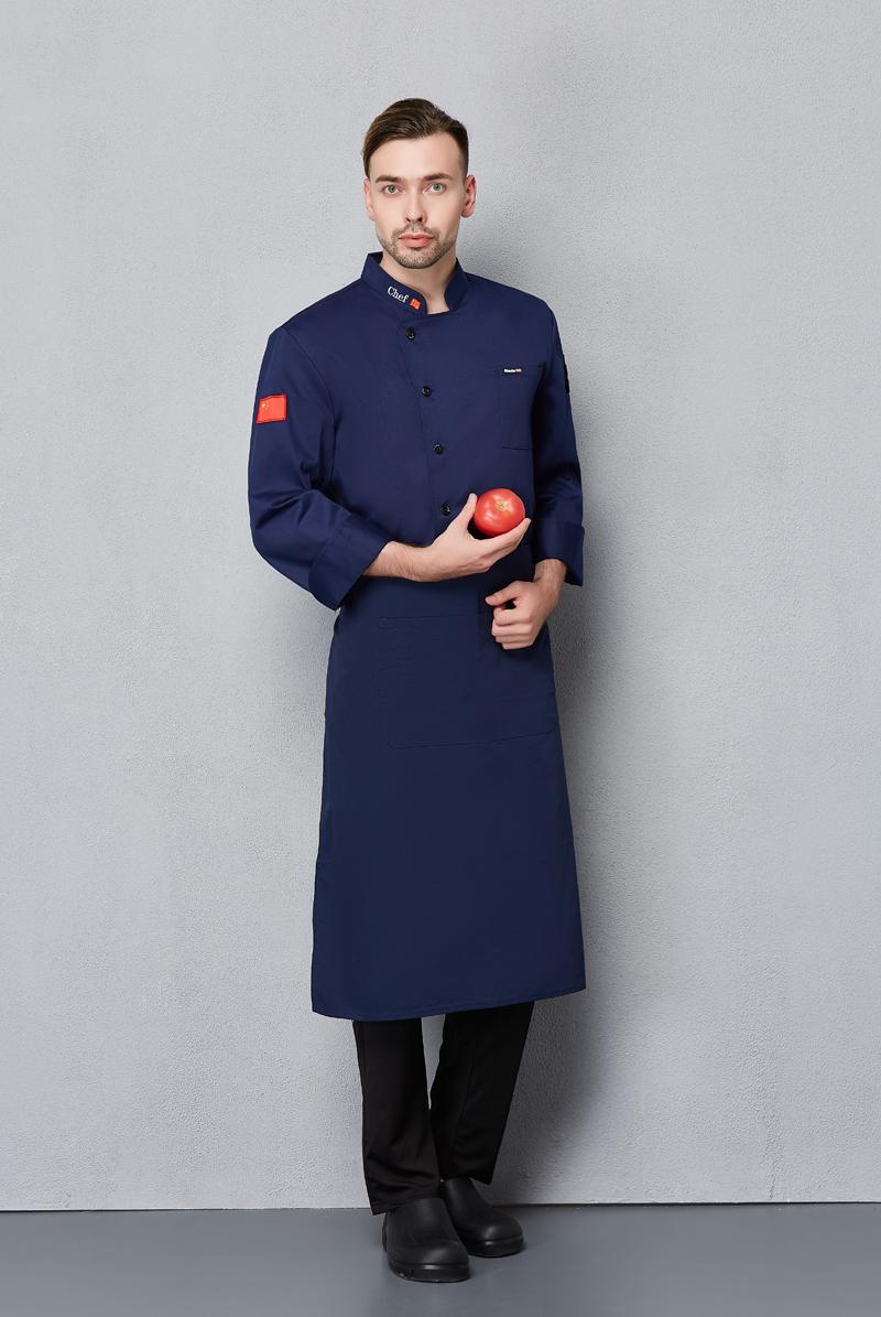 厨师服长袖-111