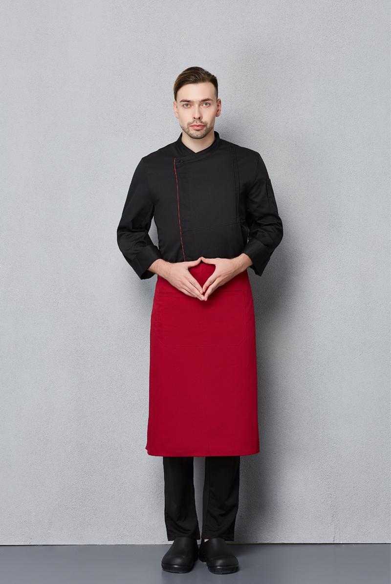 厨师服长袖-117