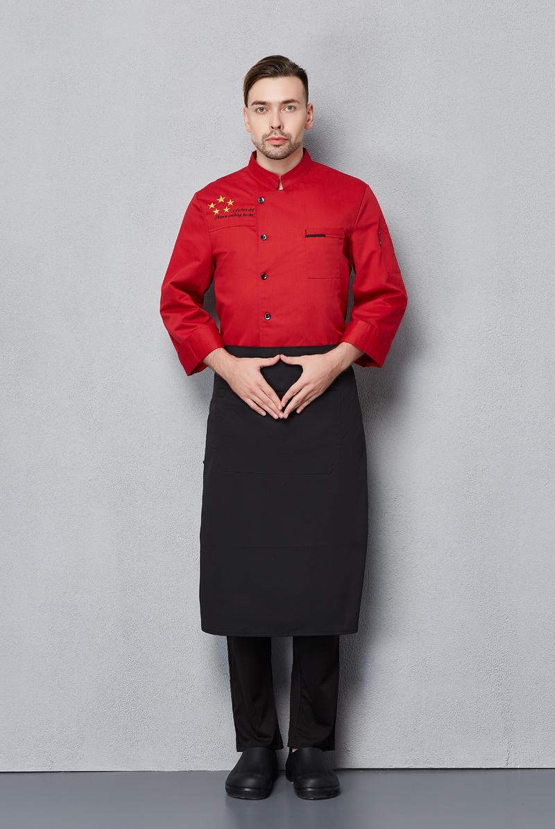 厨师服长袖-121