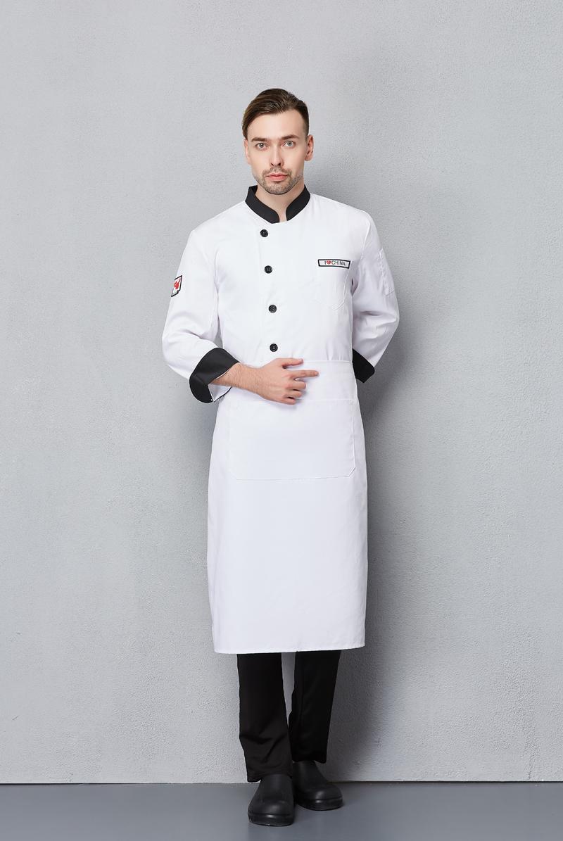 厨师服长袖-122