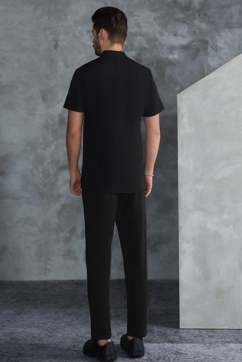厨师服短袖-49