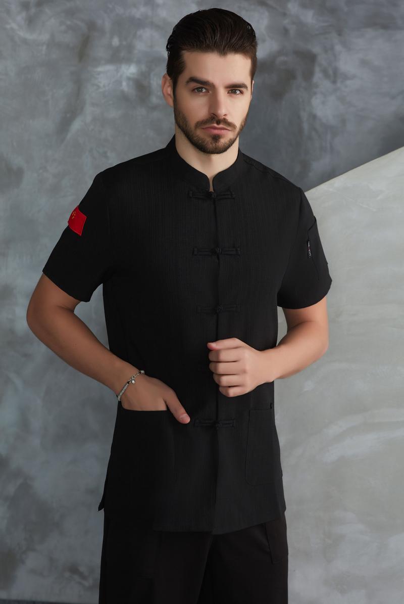 厨师服短袖-51