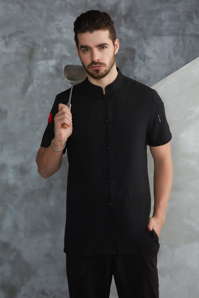 厨师服短袖-52