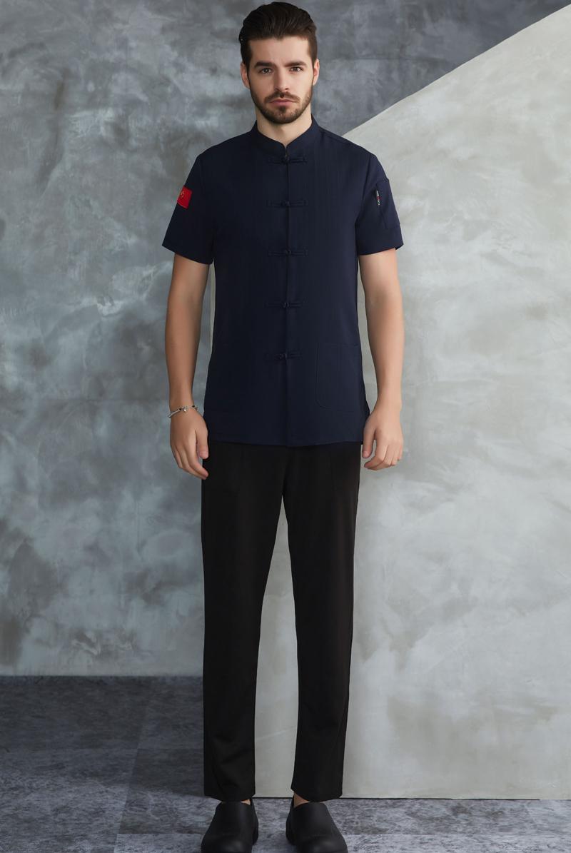 厨师服短袖-54