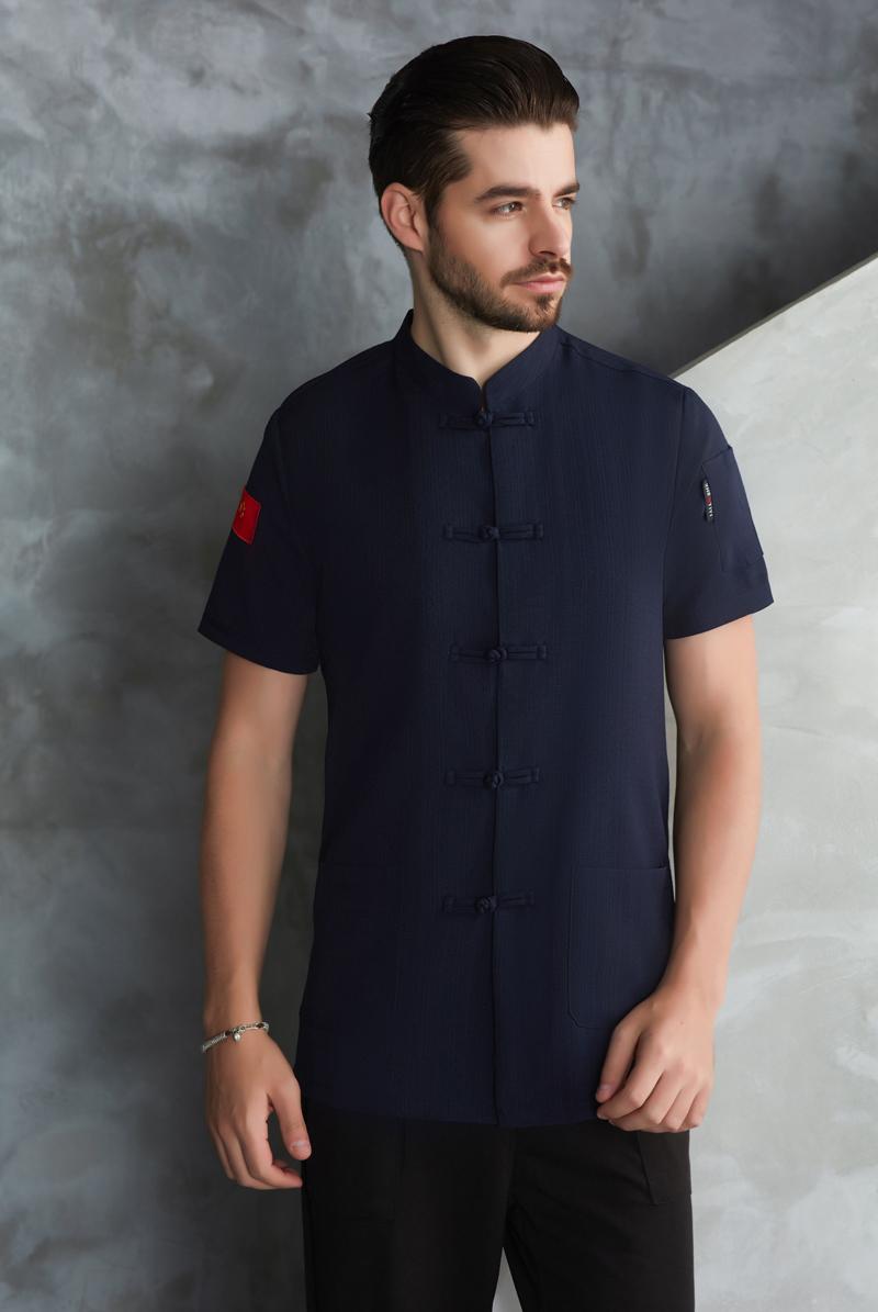 厨师服短袖-56