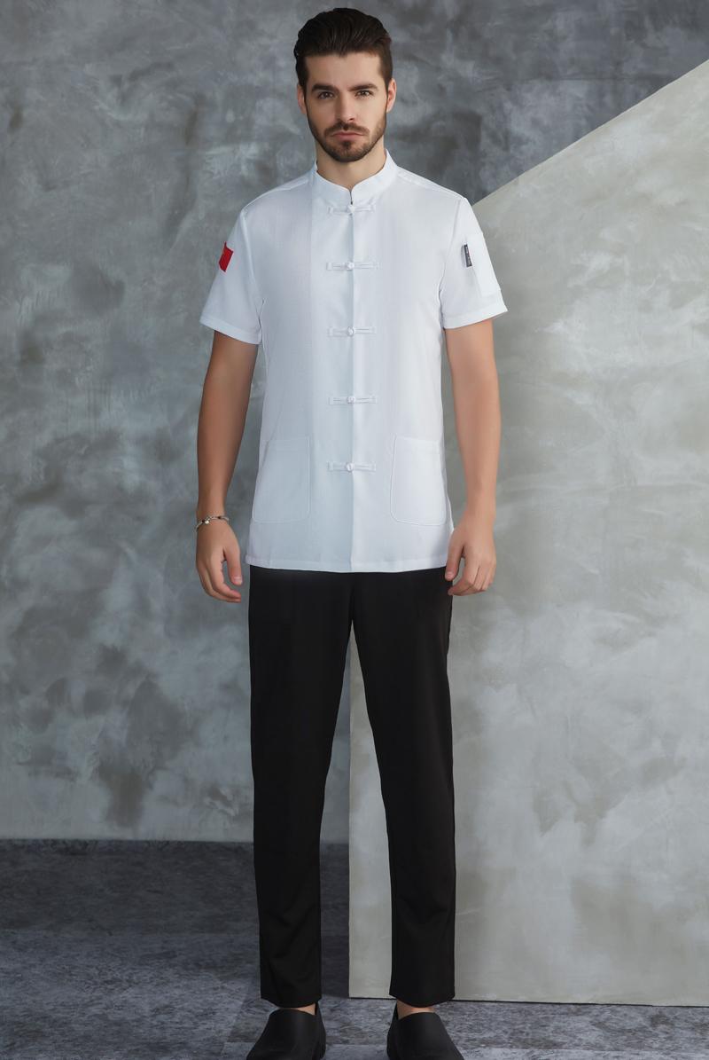 厨师服短袖-59