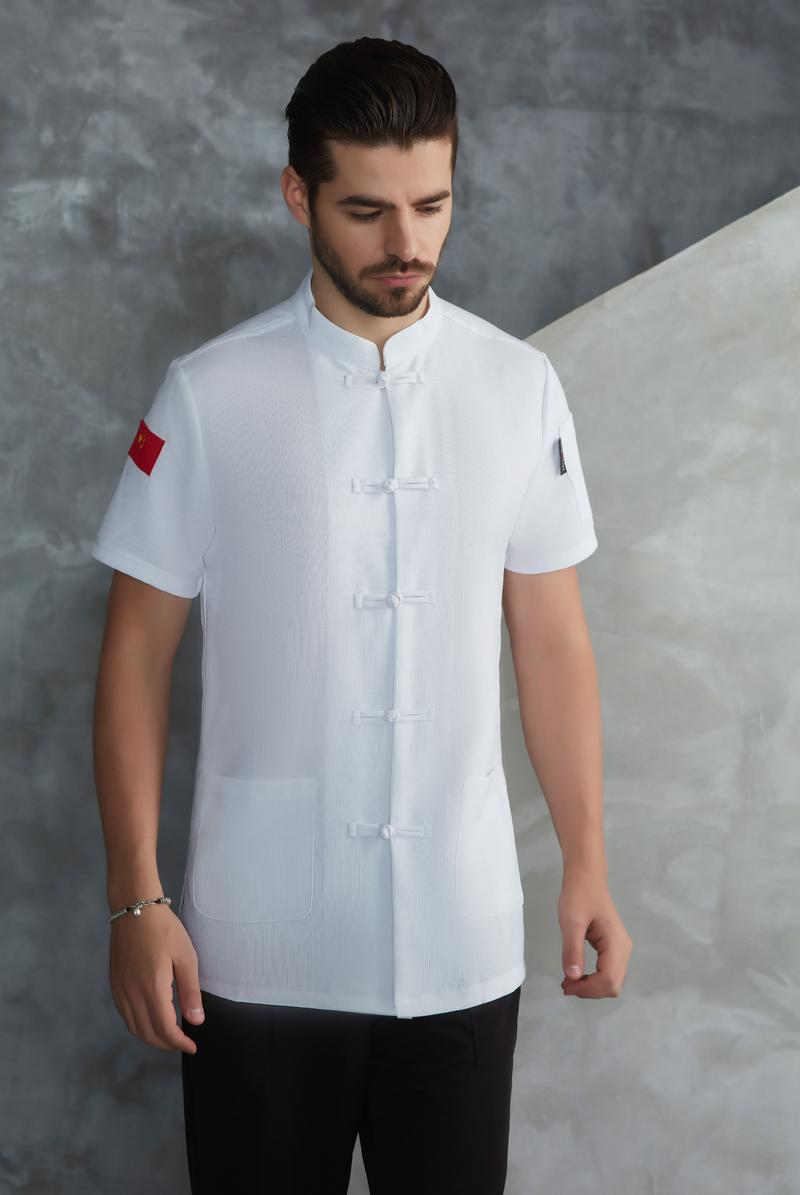 厨师服短袖-61
