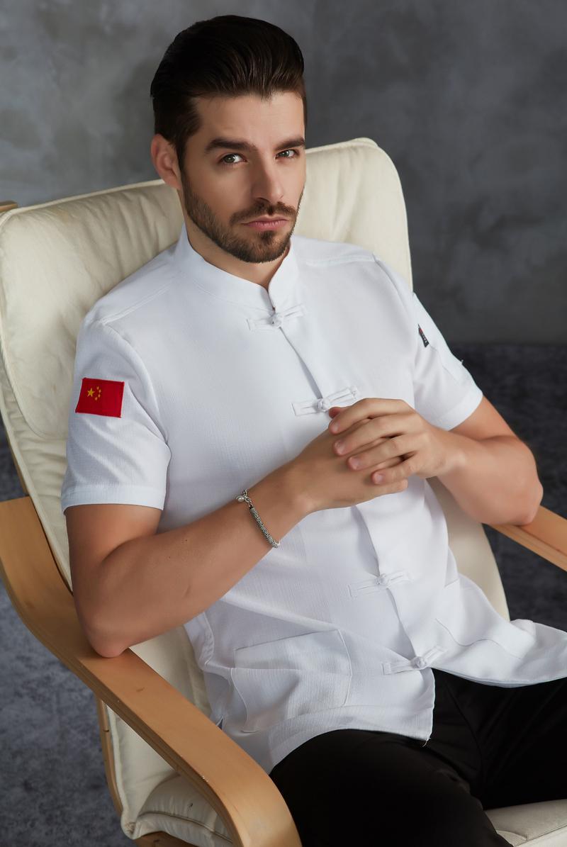 厨师服短袖-63