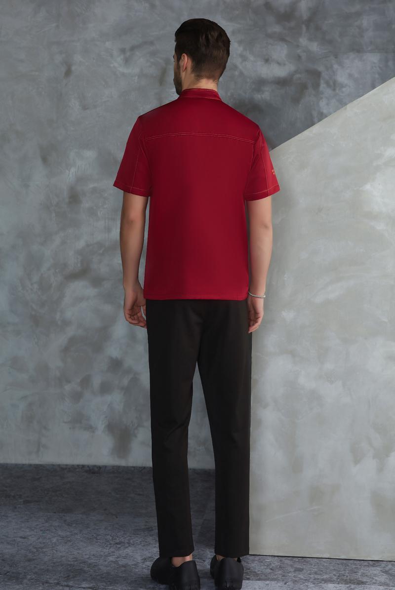 厨师服短袖-64