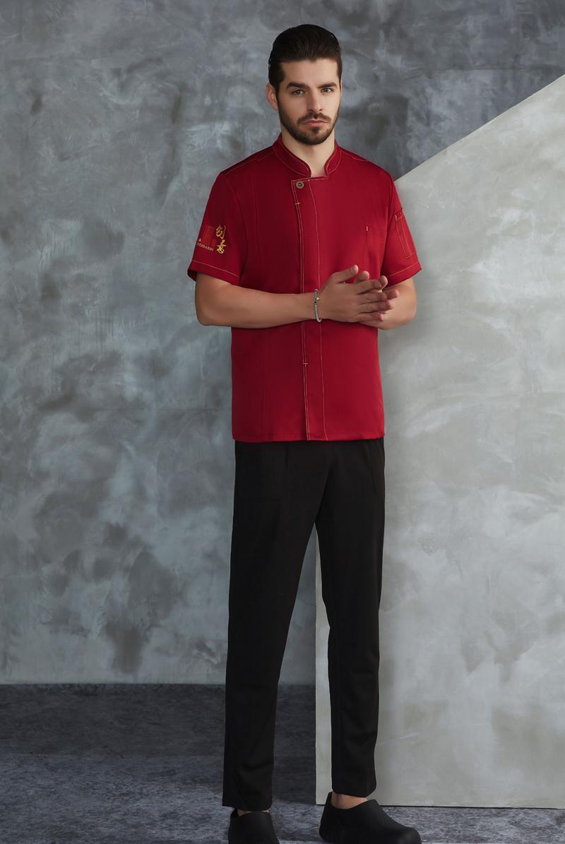 厨师服短袖-65