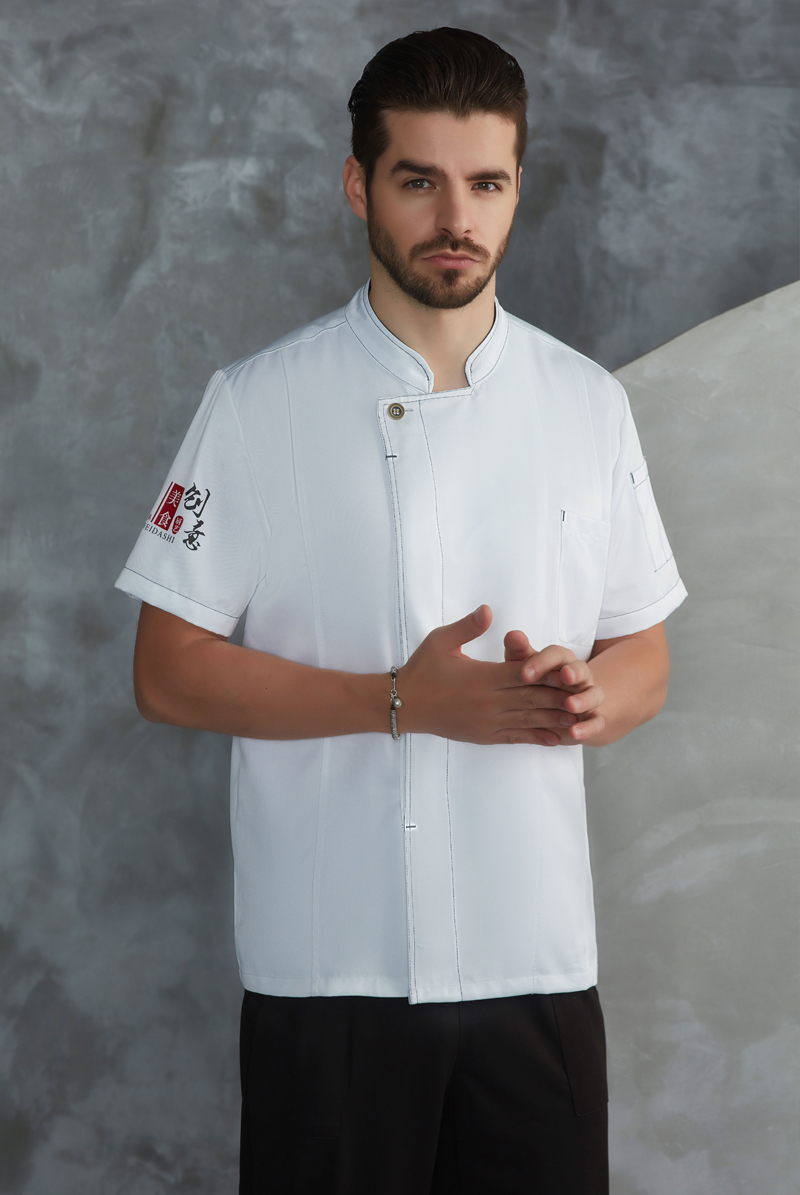 厨师服短袖-71