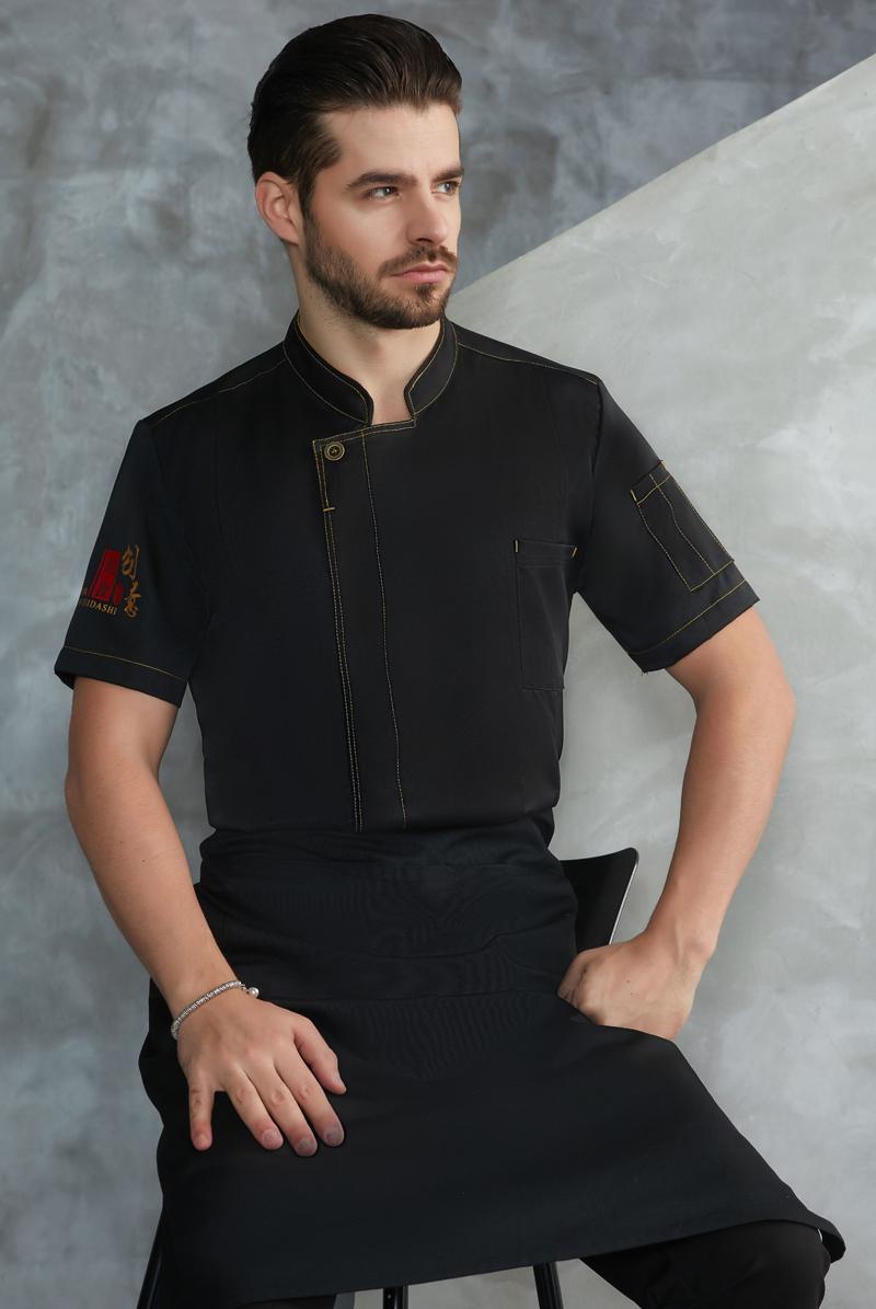 厨师服短袖-74