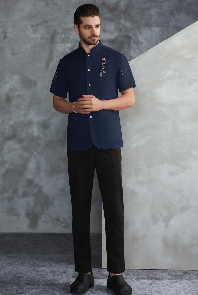 厨师服短袖-103