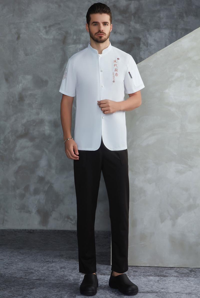 厨师服短袖-106