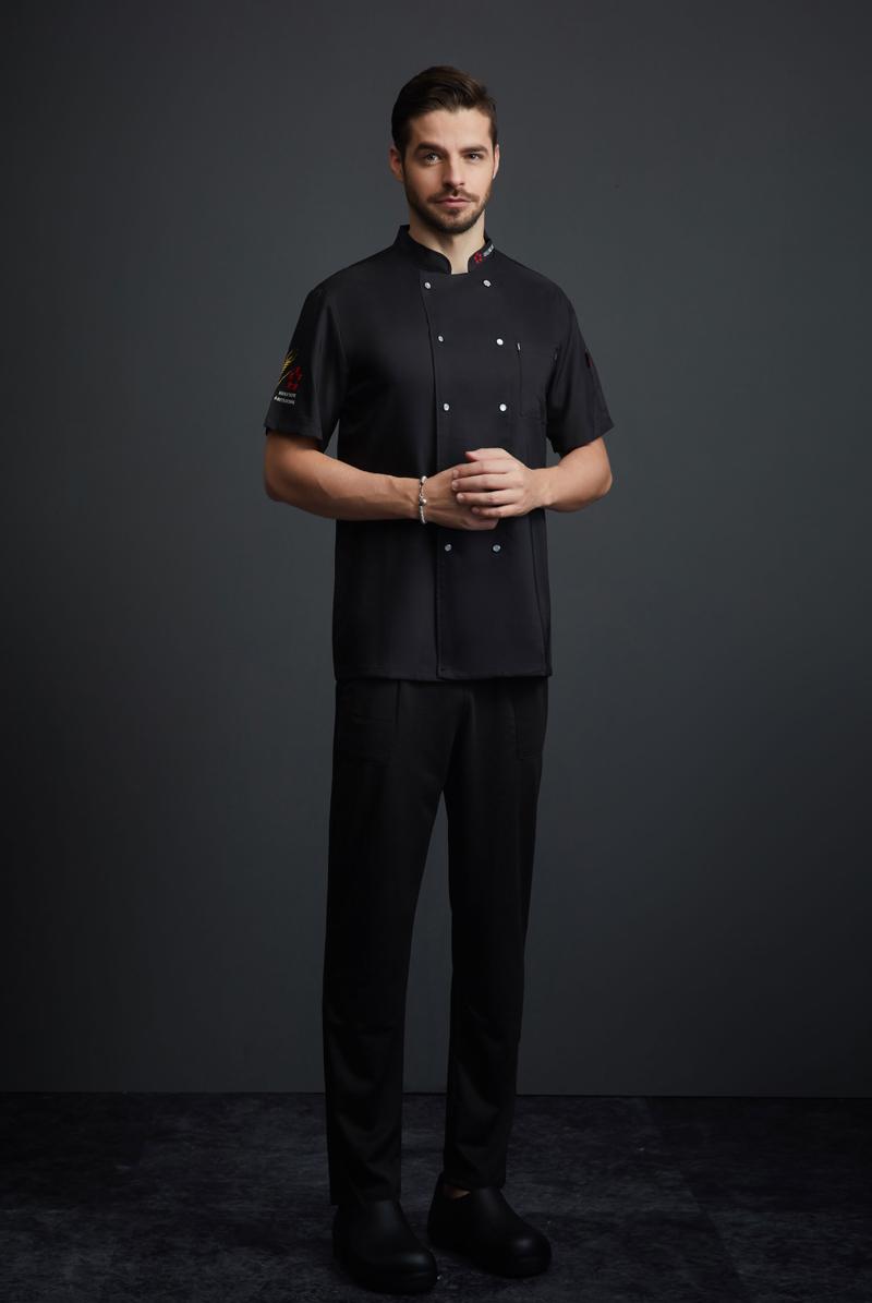 厨师服短袖-107