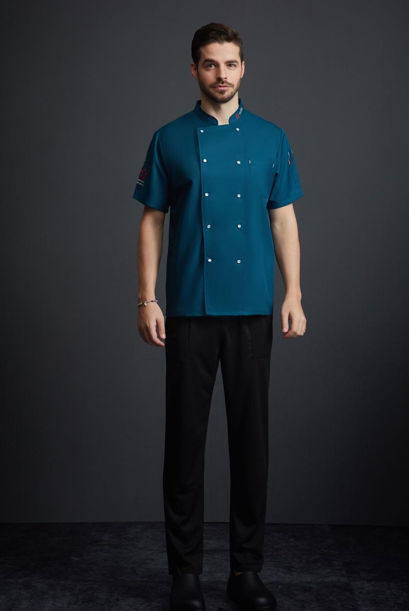 厨师服短袖-111