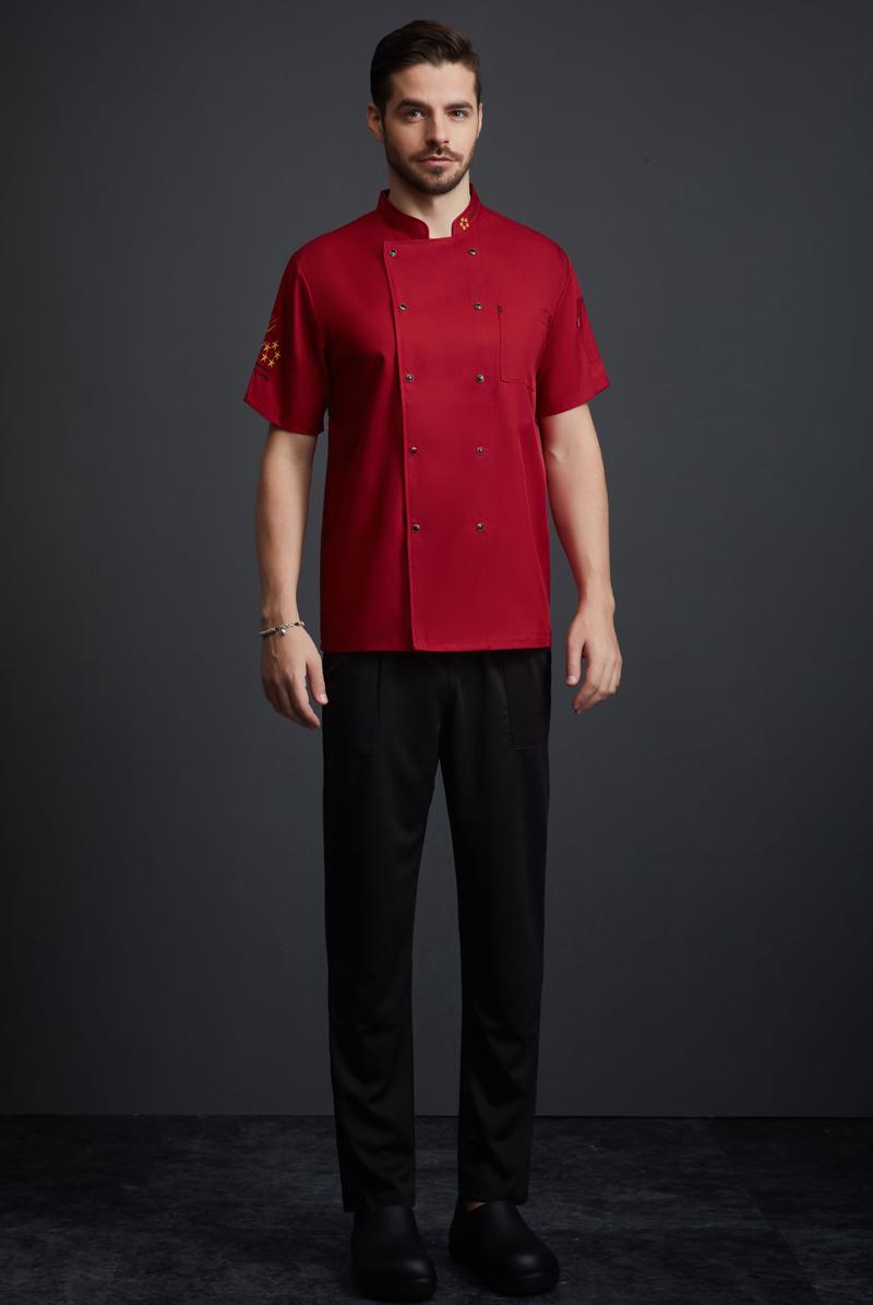 厨师服短袖-112