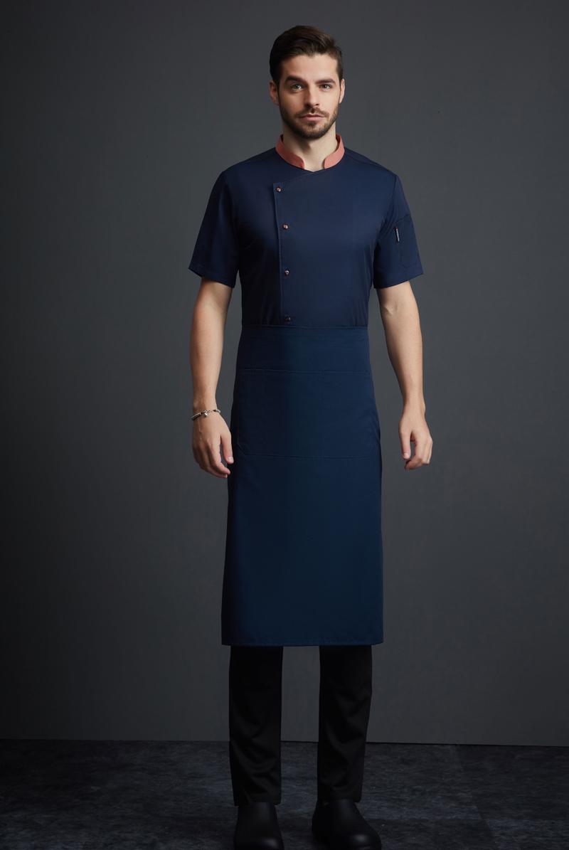 厨师服短袖-115