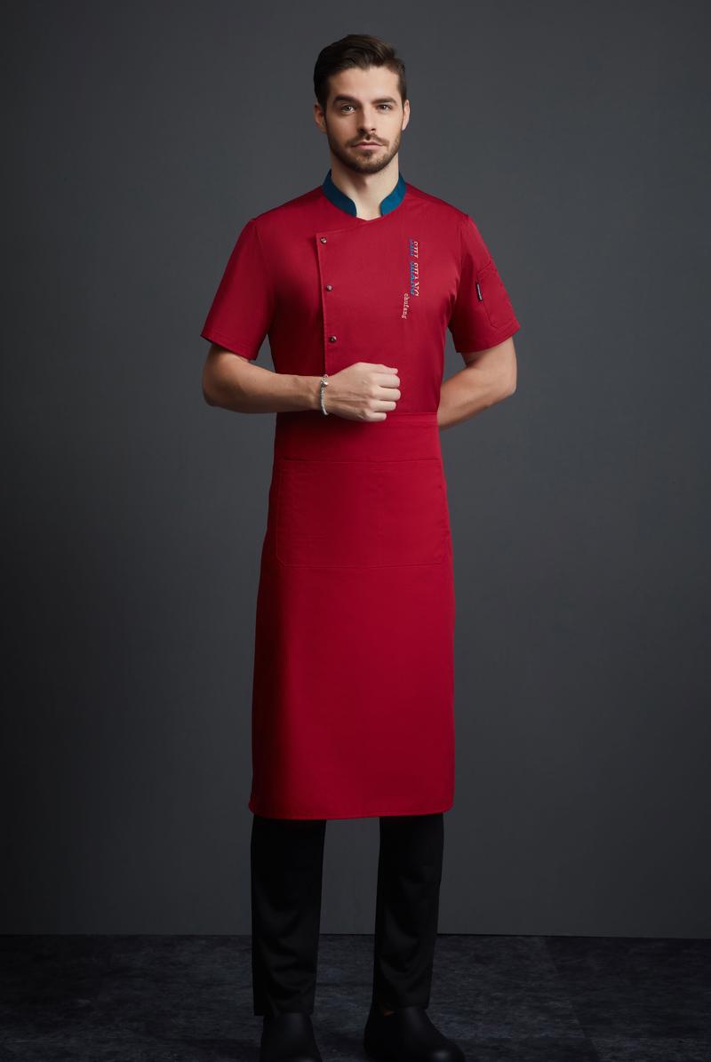 厨师服短袖-116