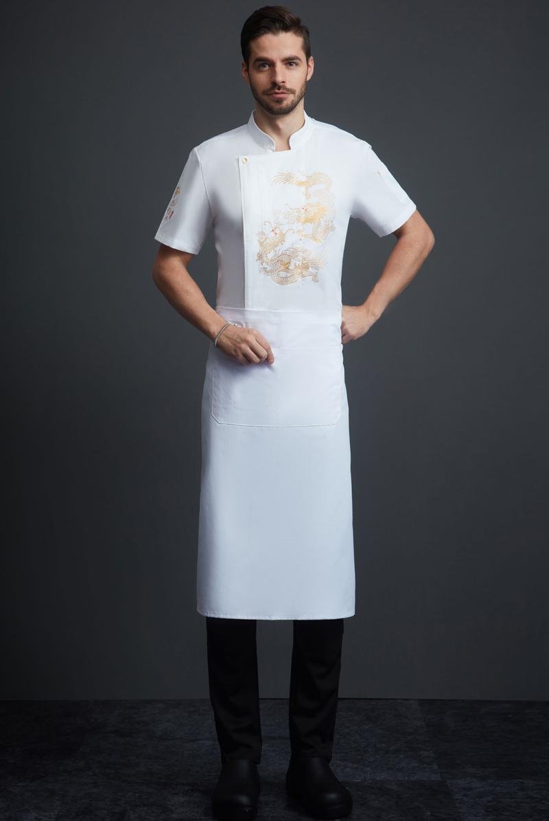 厨师服短袖-117