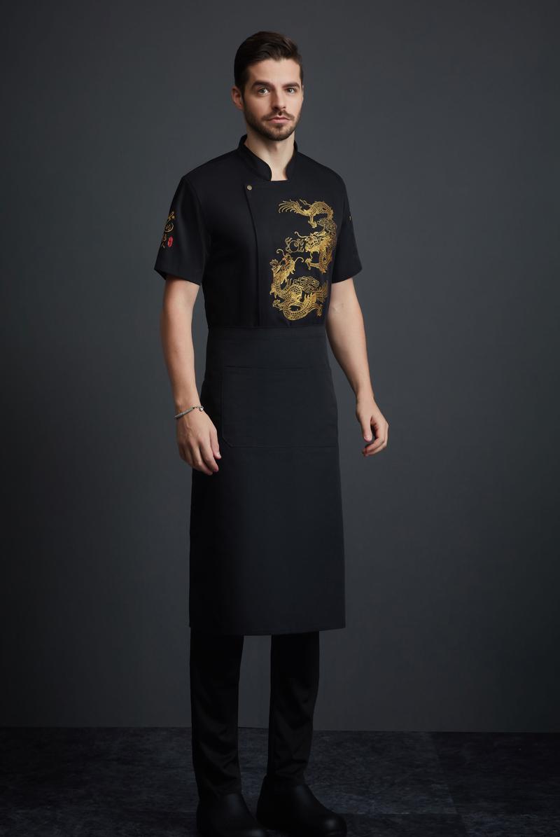 厨师服短袖-118