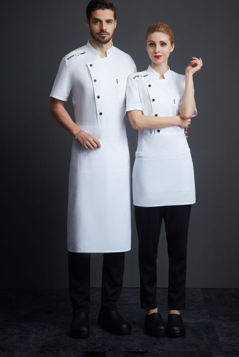 厨师服短袖-119