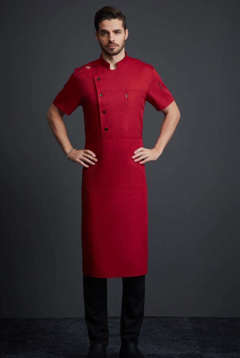 厨师服短袖-121