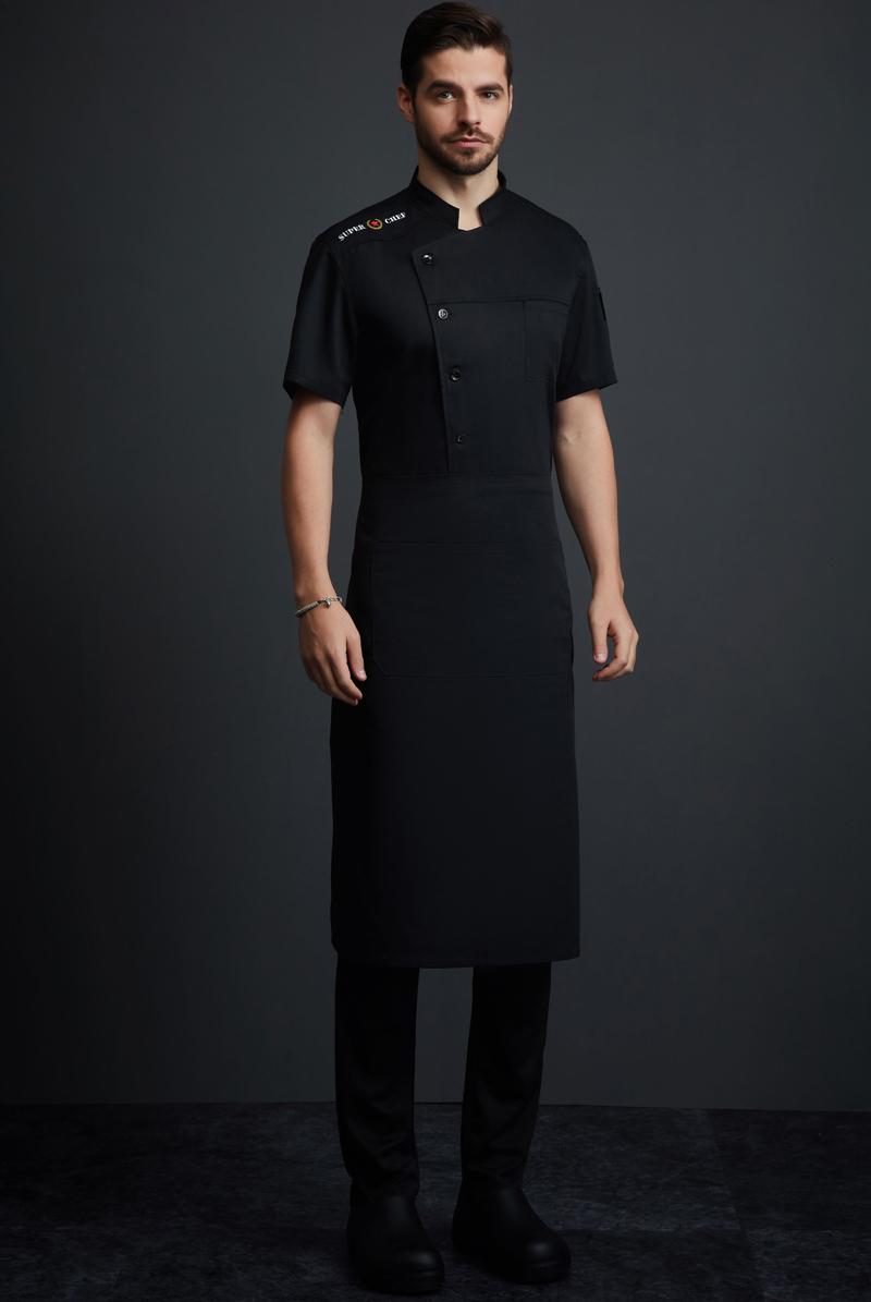 厨师服短袖-122