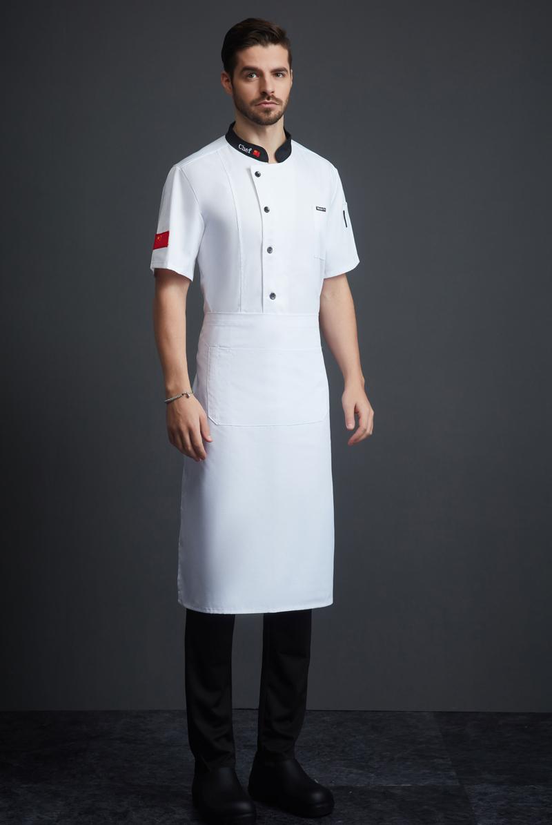 厨师服短袖-124