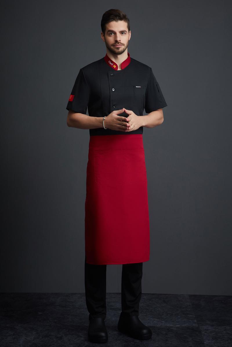 厨师服短袖-125