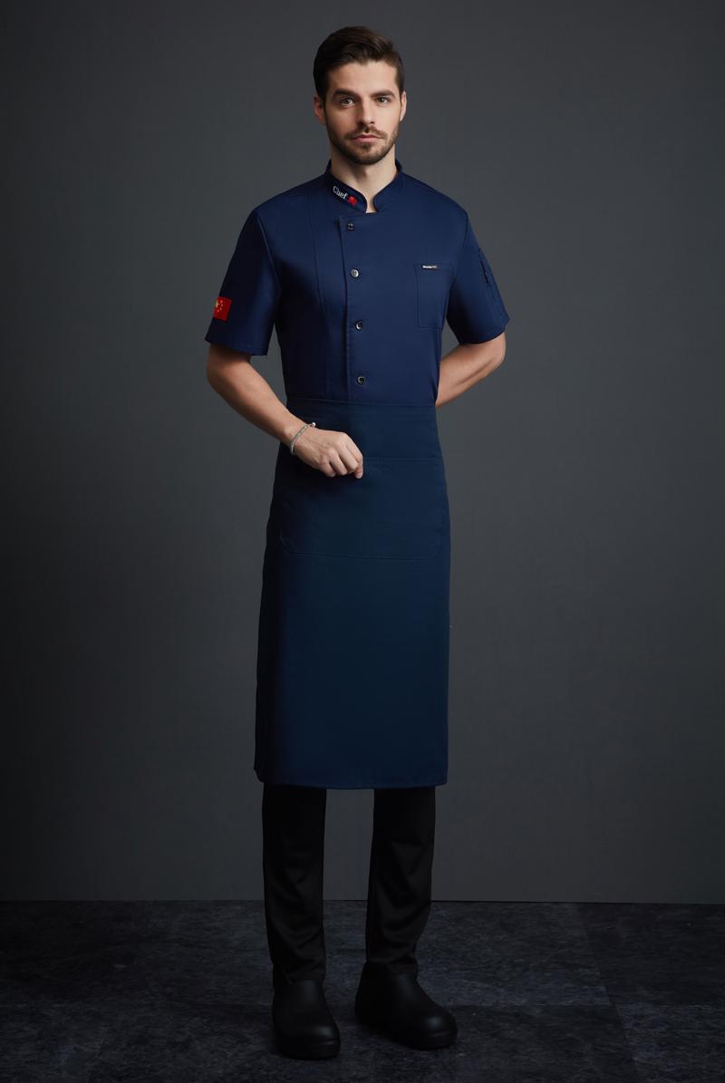厨师服短袖-126