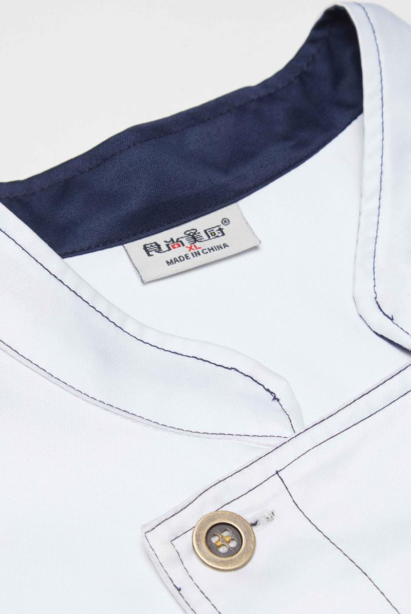 厨师服短袖-细节-130