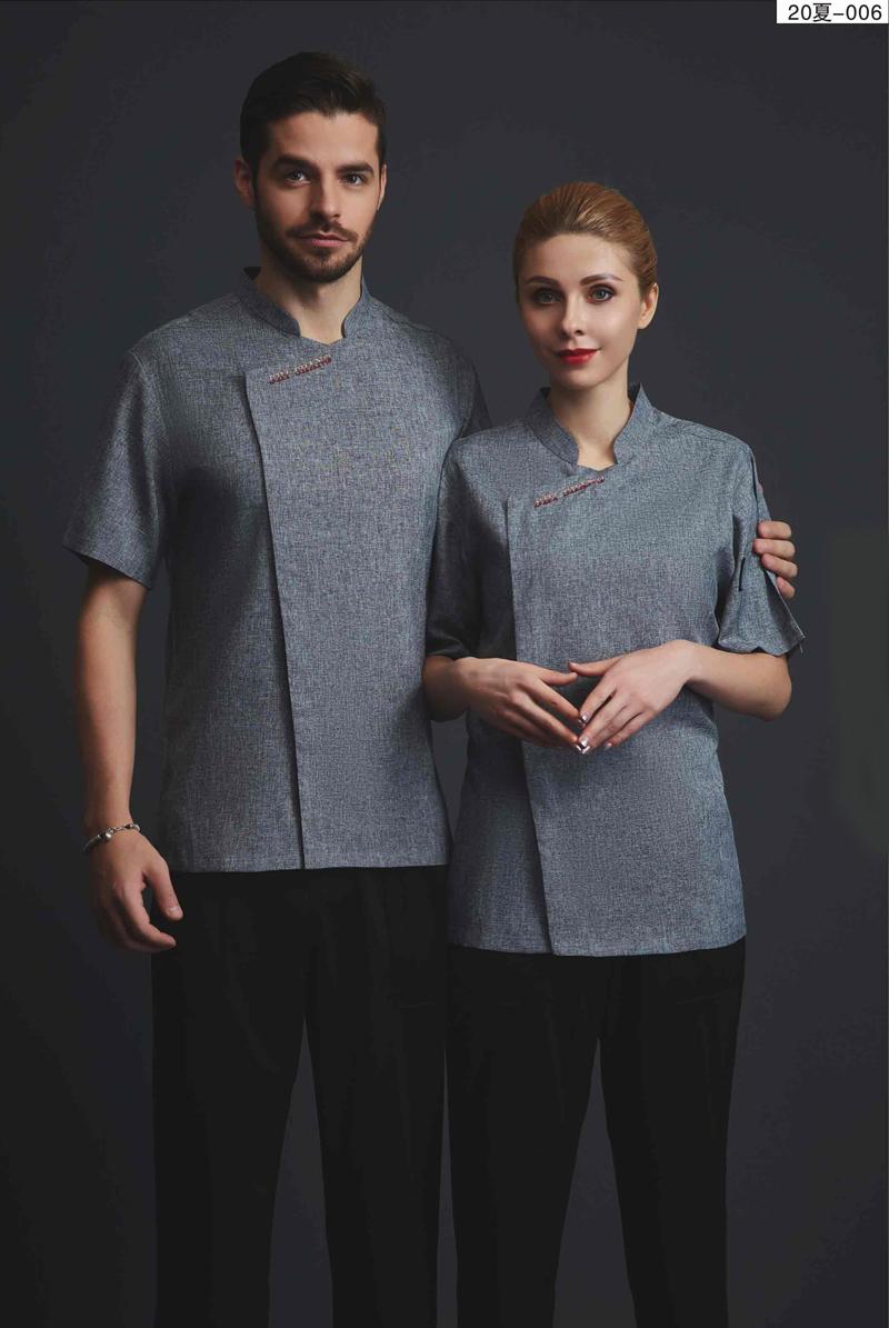 厨师服短袖-20夏-006