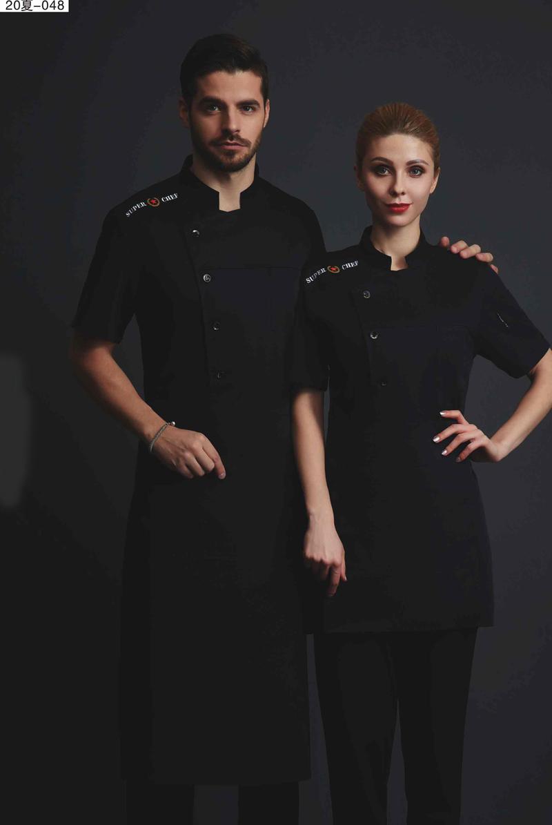 厨师服短袖-20夏-048
