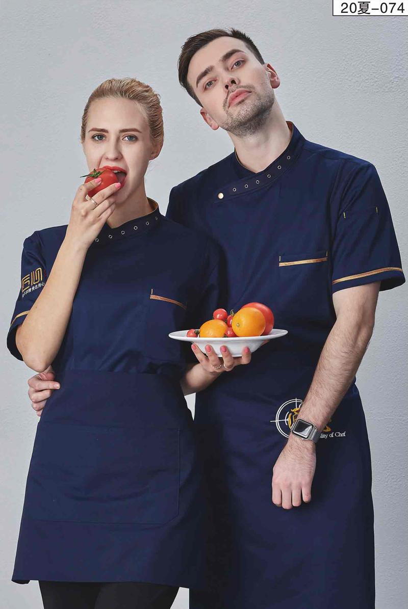 厨师服短袖-20夏-074