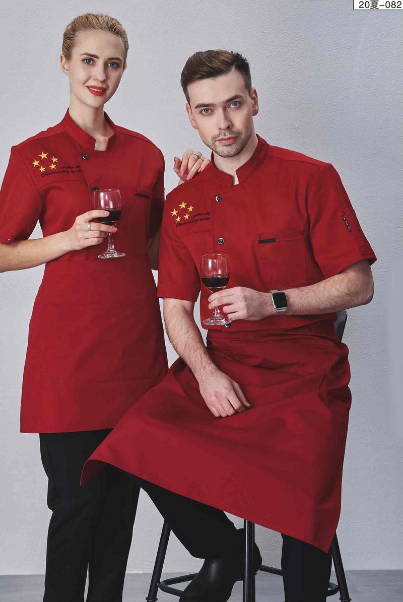 厨师服短袖-20夏-082