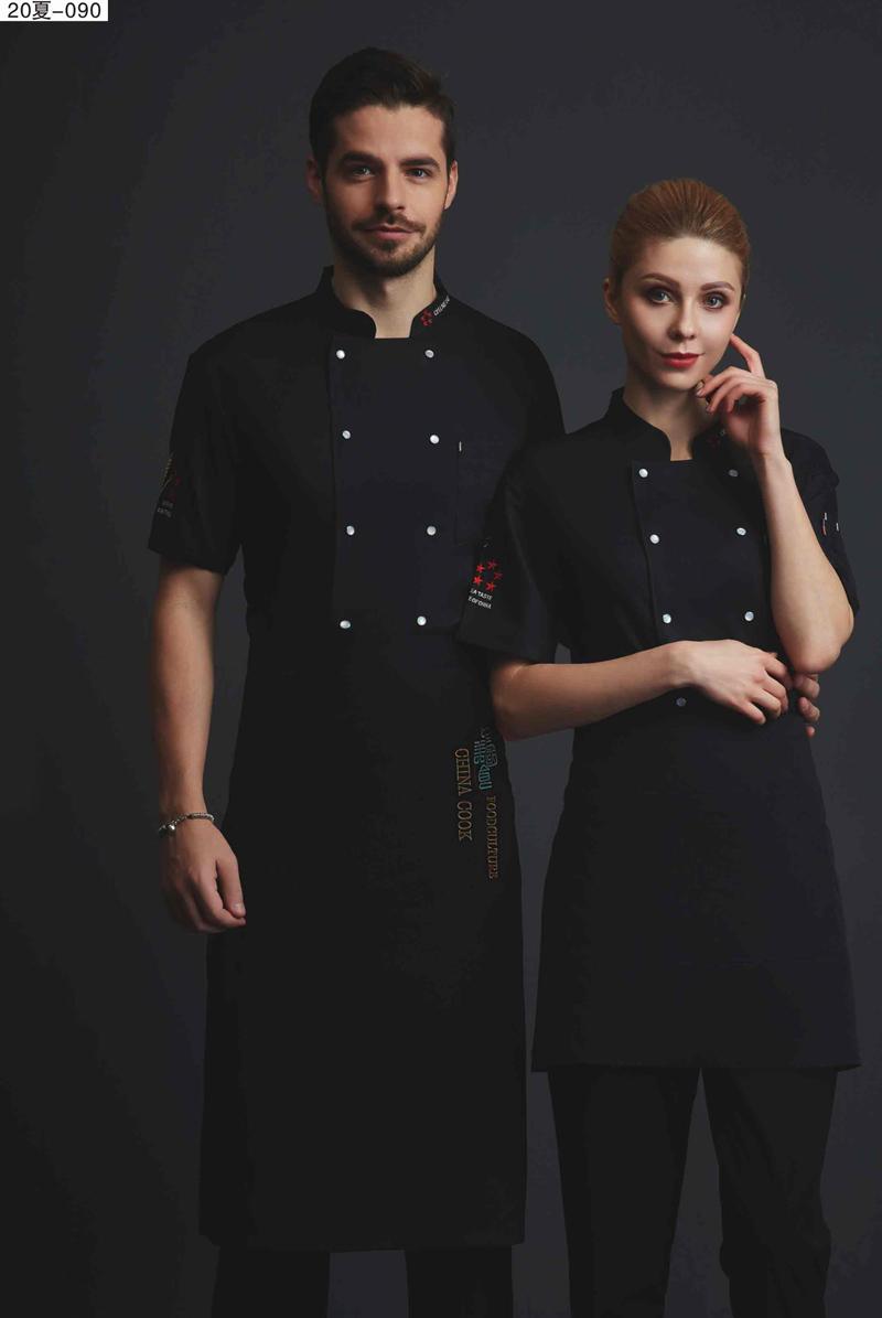 厨师服短袖-20夏-090