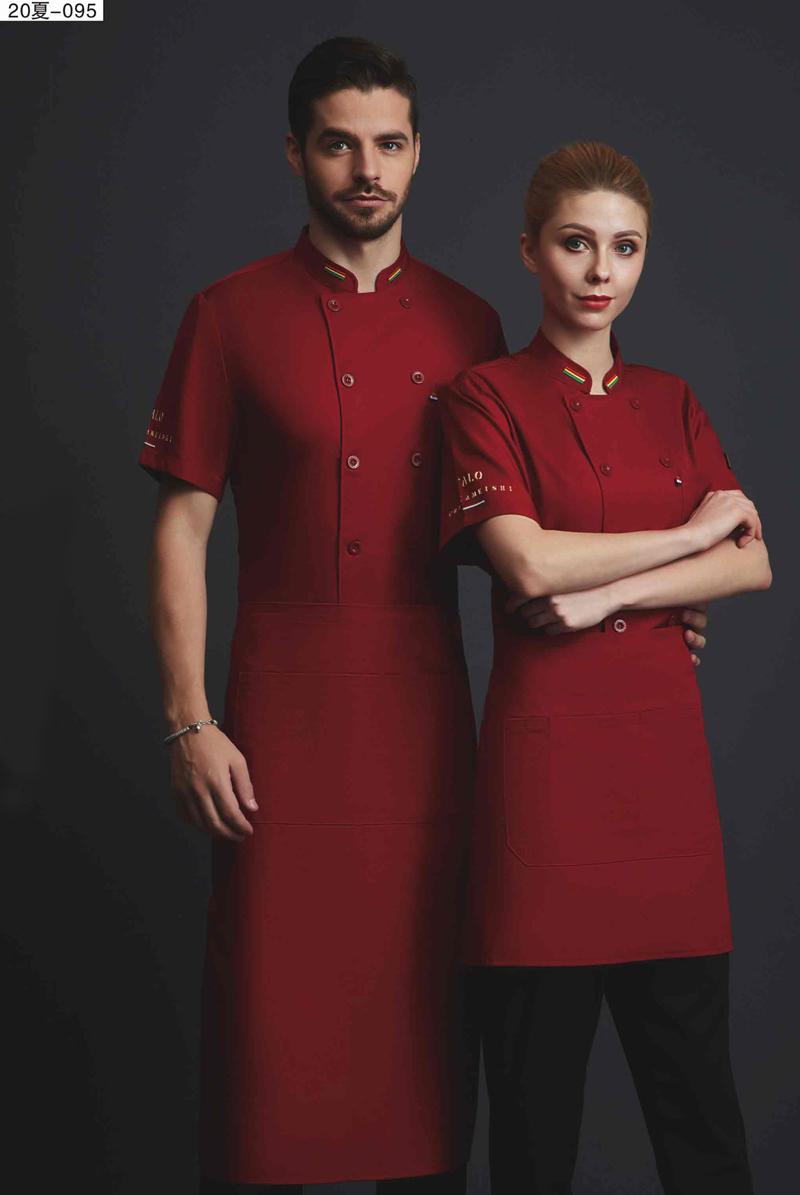 厨师服短袖-20夏-095