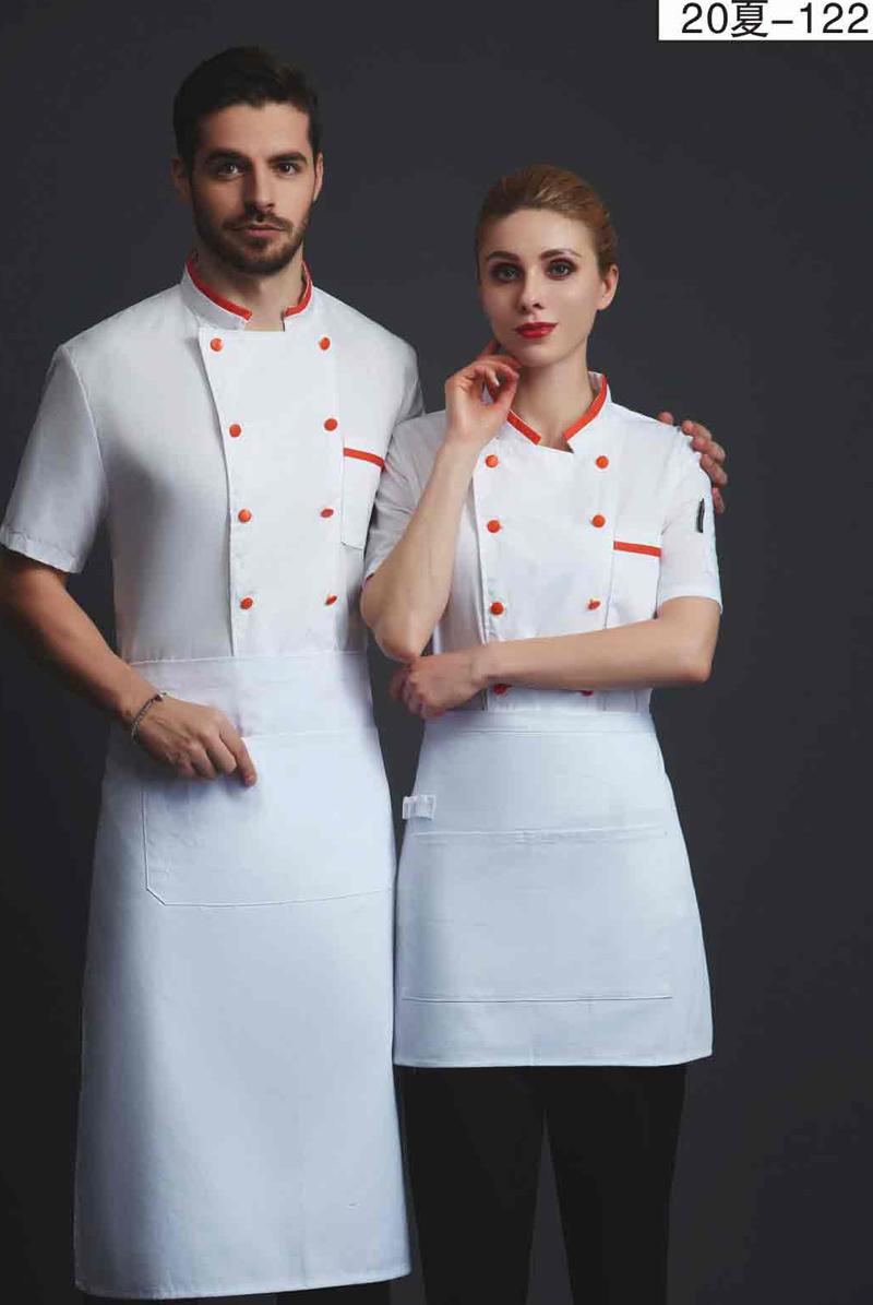 厨师服短袖-20夏-122