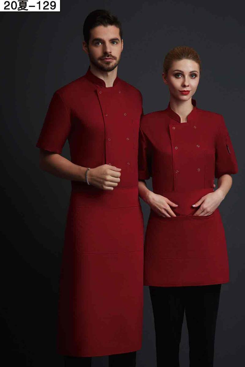 厨师服短袖-20夏-129
