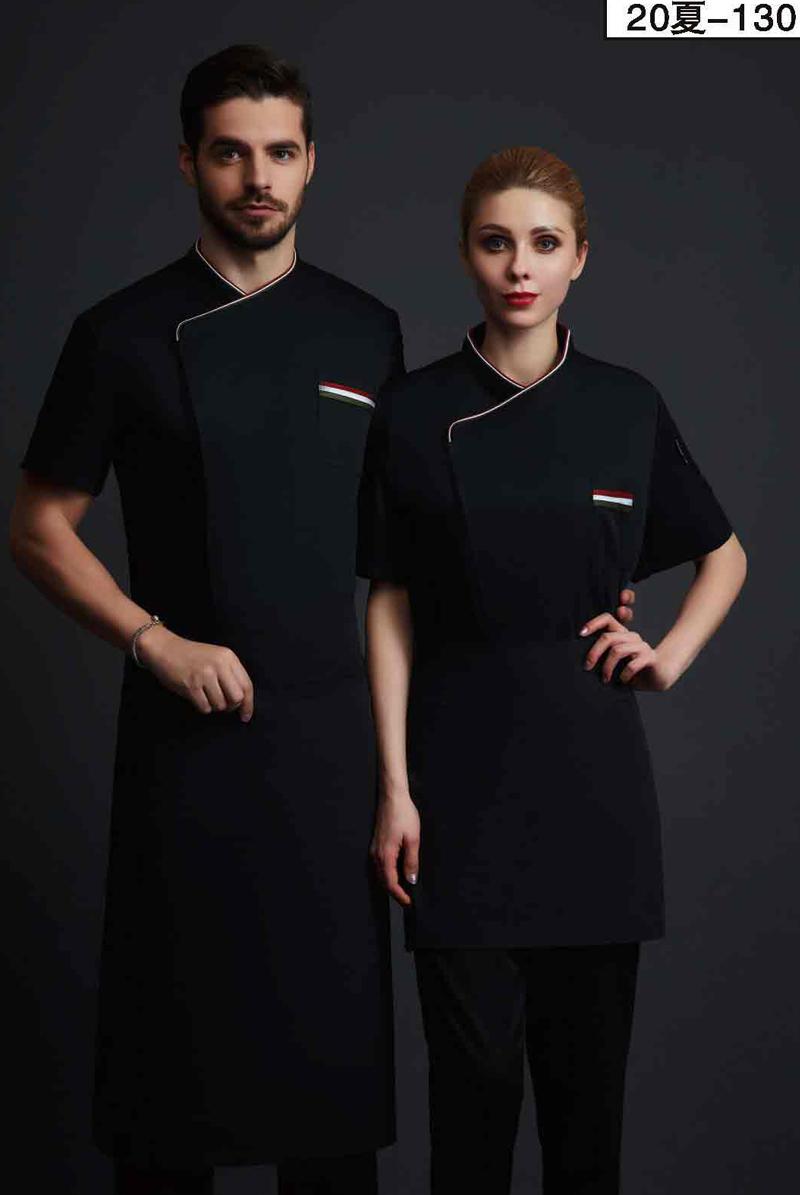 厨师服短袖-20夏-130