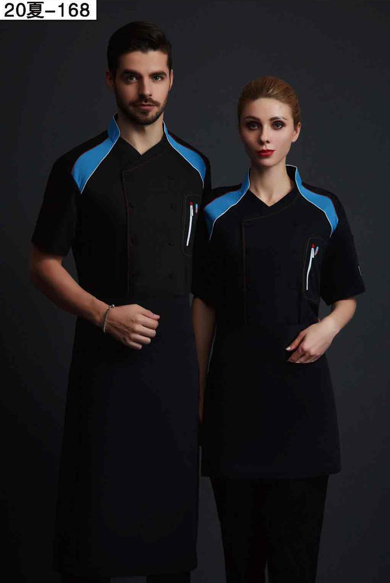 厨师服短袖-20夏-168