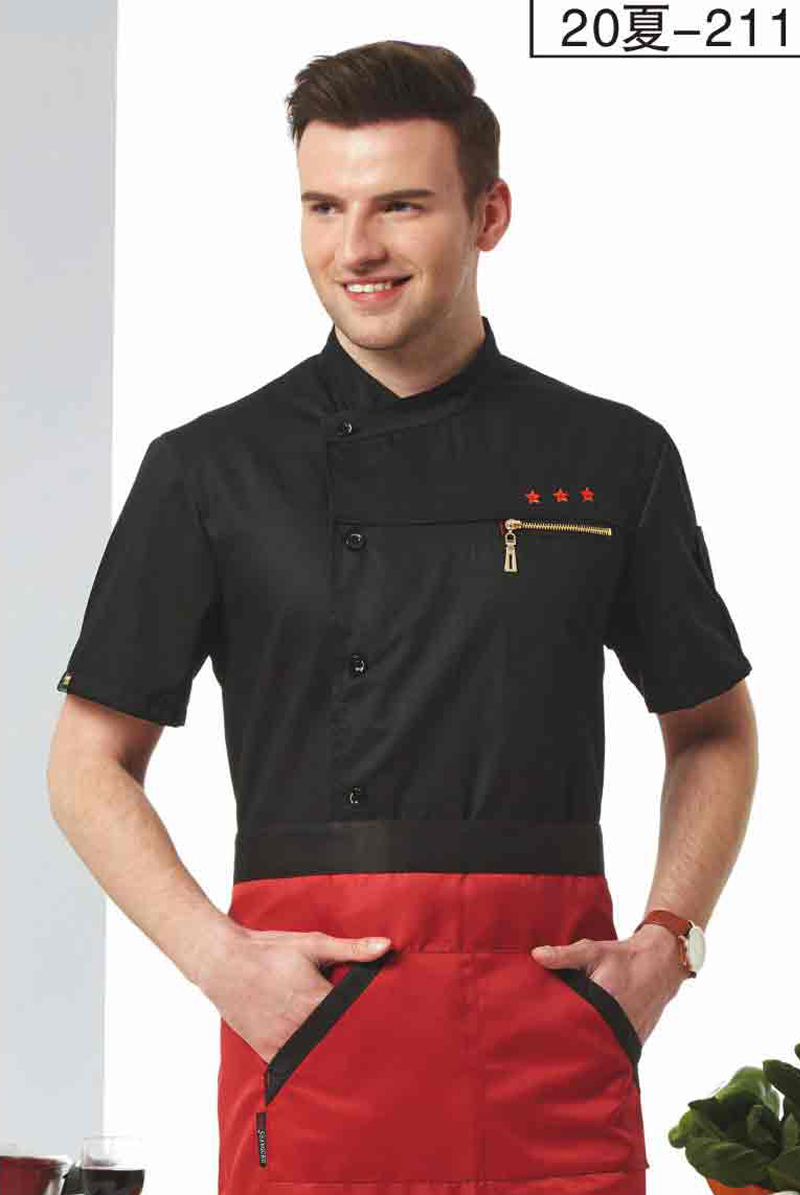 厨师服短袖-20夏-204