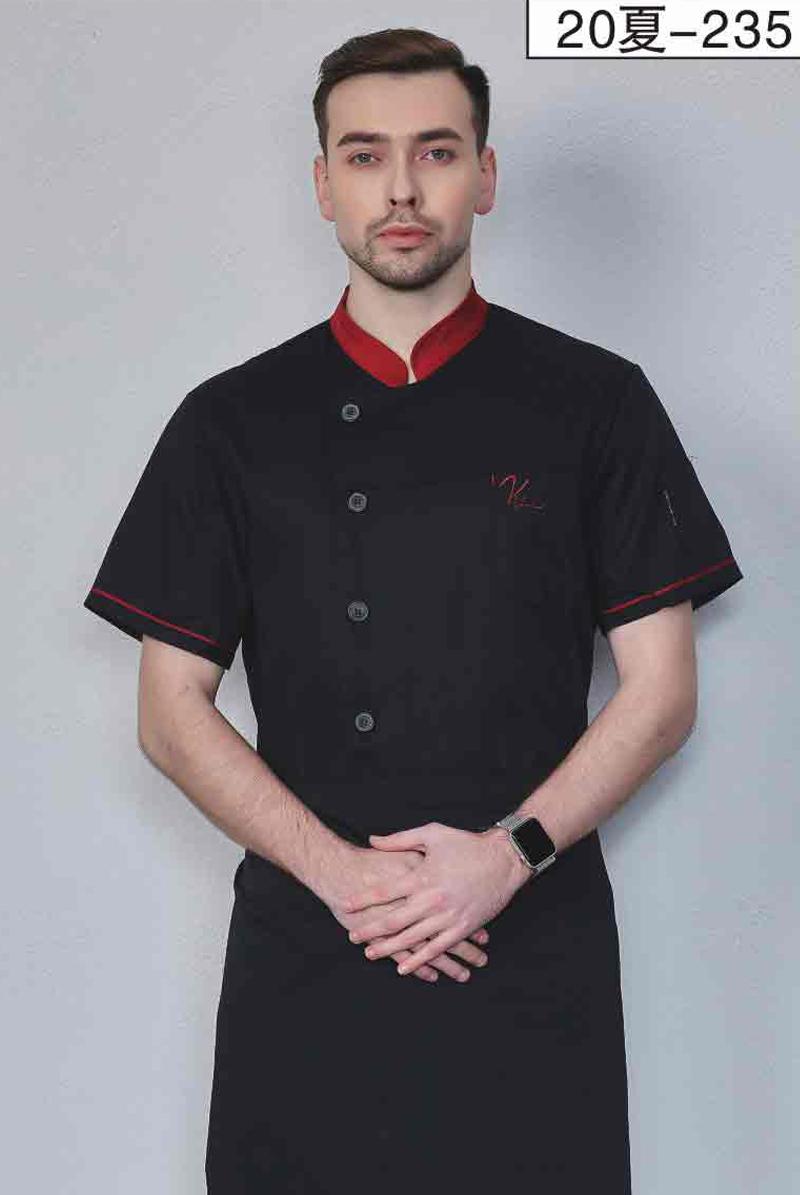 厨师服短袖-20夏-208