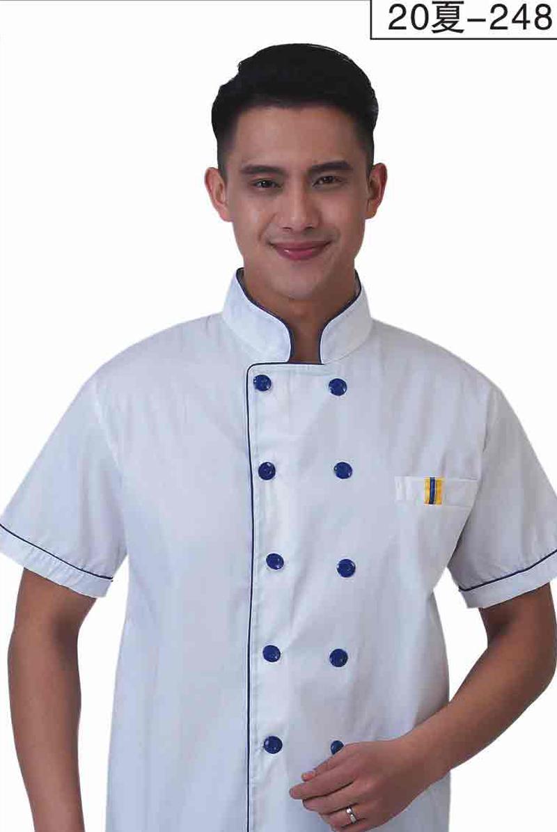 厨师服短袖-20夏-210