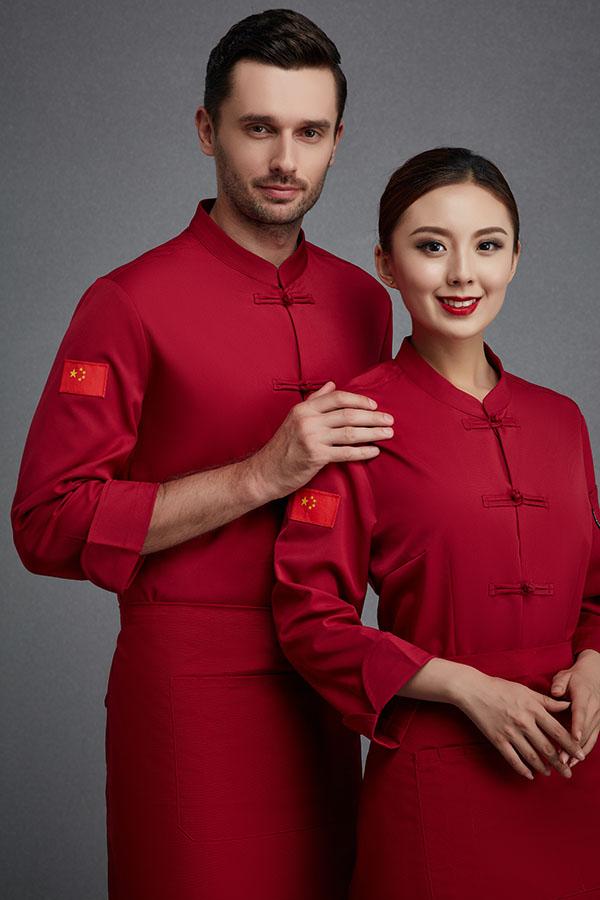 厨师服长袖-78