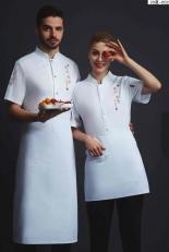 厨师服短袖-20夏-002