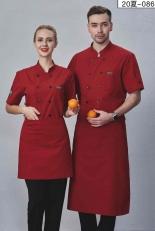 厨师服短袖-细节-086